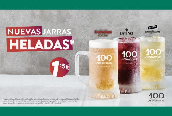 Nuevas Jarras Heladas en 100 Montaditos