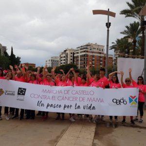 Estepark colabora en la VI Marcha contra el cáncer de mamá en Castellón