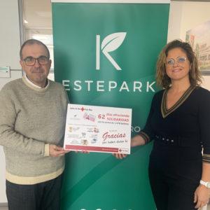 Cruz Roja Castellón y Estepark dan las gracias a todos los participantes en el Sorteo de Oro