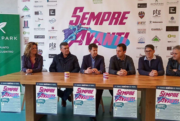 Presentación oficial del 1er Torneo benéfico de Pádel Sempre Avanti en Estepark