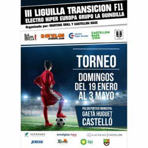 Presentación de la III Liguilla de Transición Fútbol 11