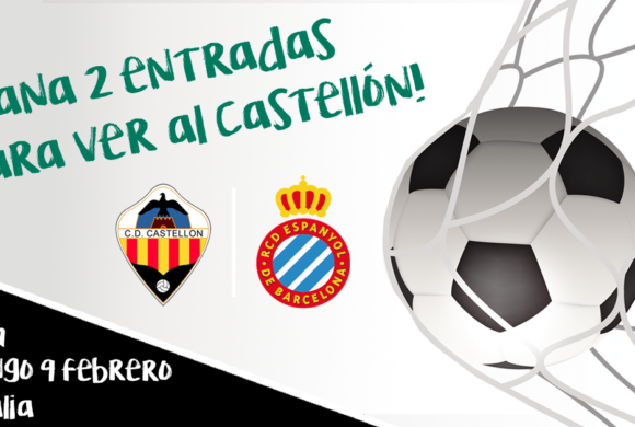 SORTEO de entradas CD Castellón VS Espanyol B