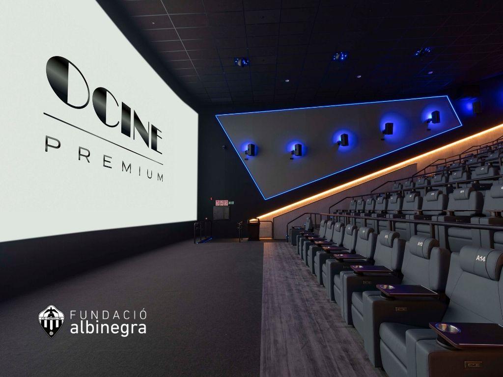 La Cantera Albinegra será 'premium' en los cines de CC Estepark