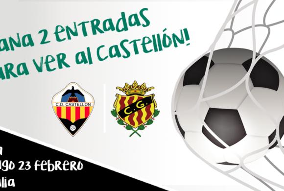 SORTEO de 10 entradas CD Castellón VS Nàstic