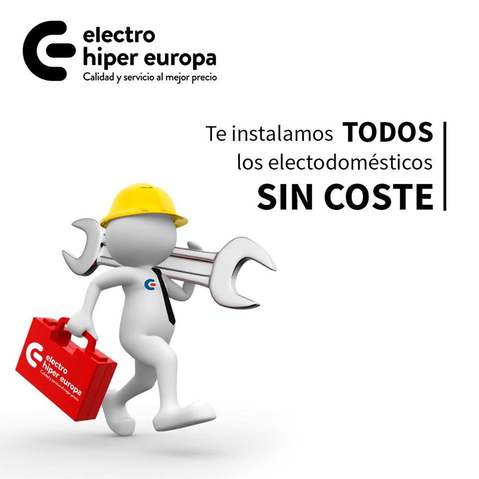 Instalación gratuita en Electro Híper Europa