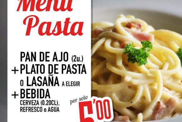 Menú por 5€ en Pomodoro