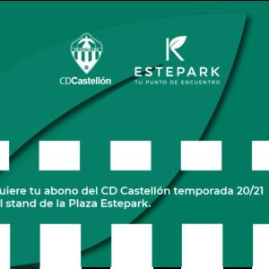 Consigue tu abono del CD Castellón en Estepark