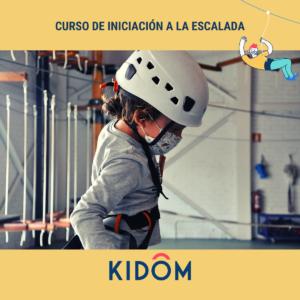 Curso de iniciación a la escalada en Kidôm