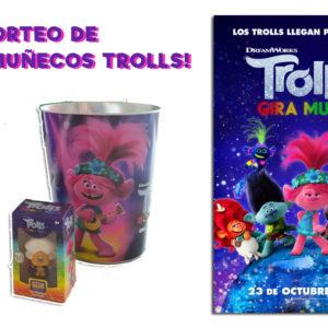 ¡Gana cubos y muñecos de la película Trolls 2 en Estepark!