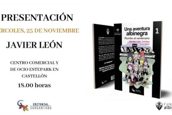 Presentación del libro infantil 'Una aventura albinegra' en Estepark.