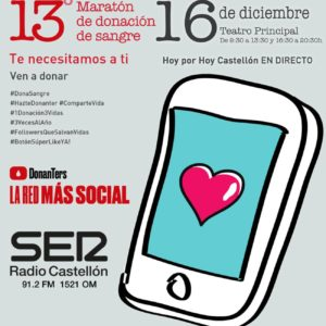 Estepark se une a la Maratón de donación de sangre en Castellón