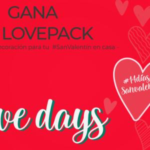 Te regalamos un LOVEPACK de Estepark para celebrar San Valentín