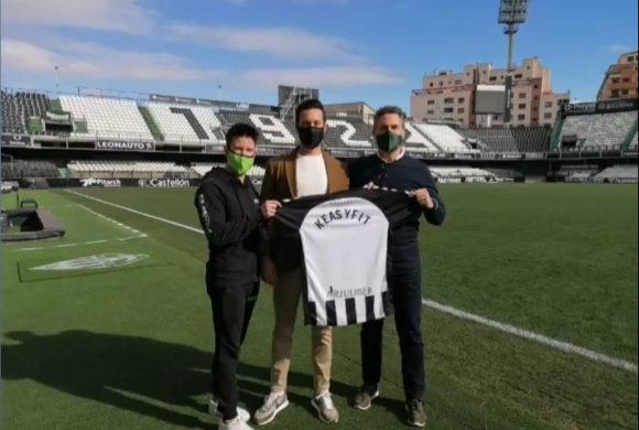 Keasyfit Estepark nuevo patrocinador del CD Castellón
