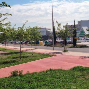 Más carril bici en CC Estepark