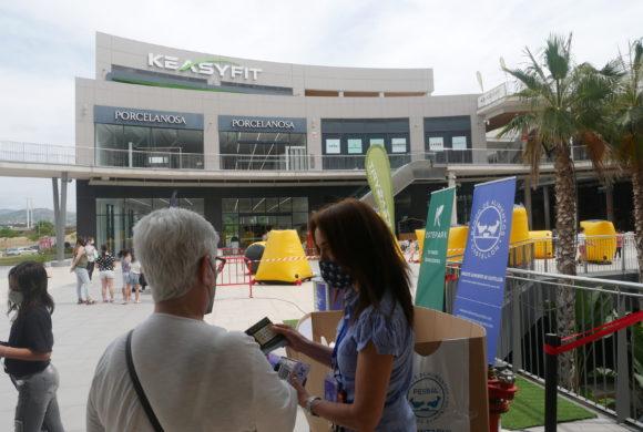 Marcas y clubs deportivos se vuelcan en la Semana de la donación de alimentos en Estepark